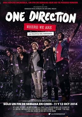 One Direction: Where We Are - La película del concierto